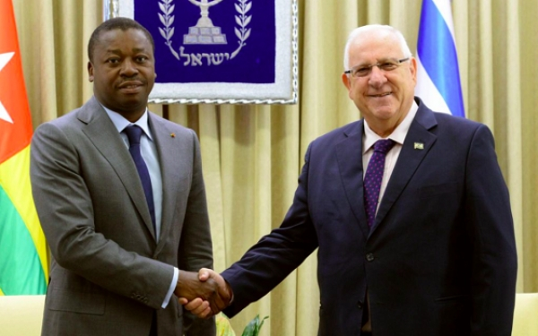 Election présidentielle 2020:  Reuven Rivlin salue la réélection de Faure Gnassingbé